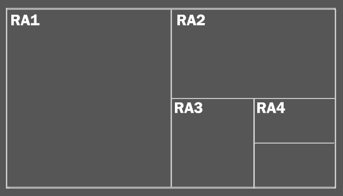 RA and SRA Paper Sizes