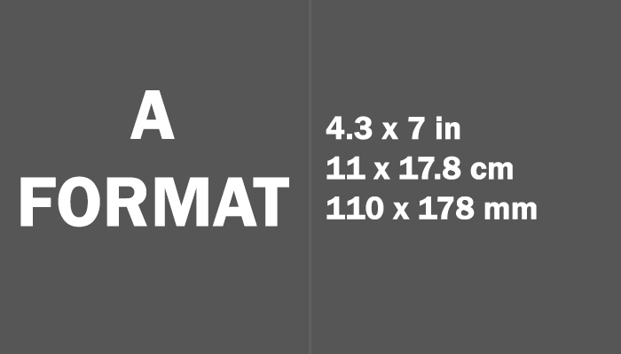 A Format Paper Size in cm mm