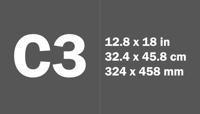 C3 Paper Size Dimensions