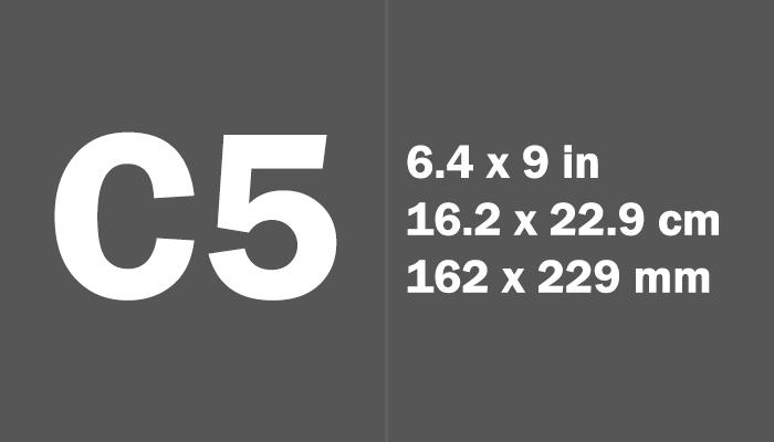 C5 Paper Size in cm mm